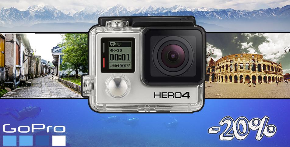 Go Pro Hero 4 Air à prix cassé sur EXPO-DISPO.fr